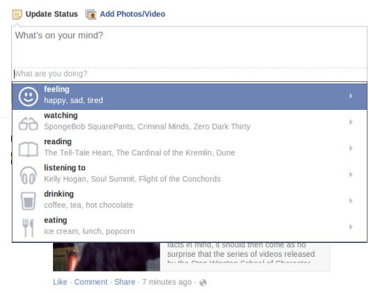 Facebook-Feeling
