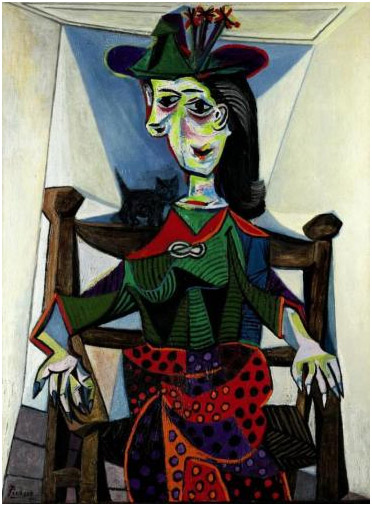 Dora Maar au Chat (1941) - Pablo Picasso