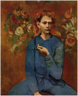 Garcon a la Pipe (1905) - Pablo Picasso