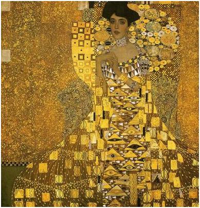 Portrait of Adele Bloch-Bauer I (1907) - Gustav Klimt