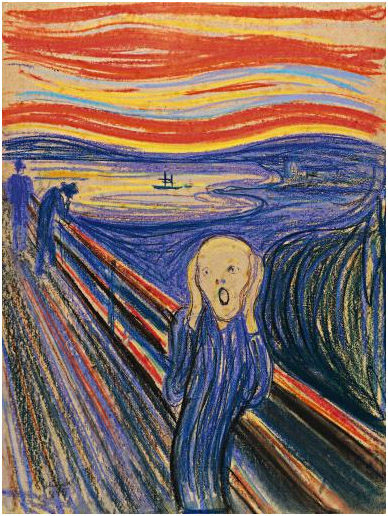 The Scream (1895) - Edvard Munch