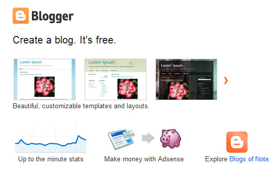 Blogger - Best Blog Site