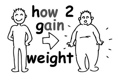 How to gain Weight Fast?