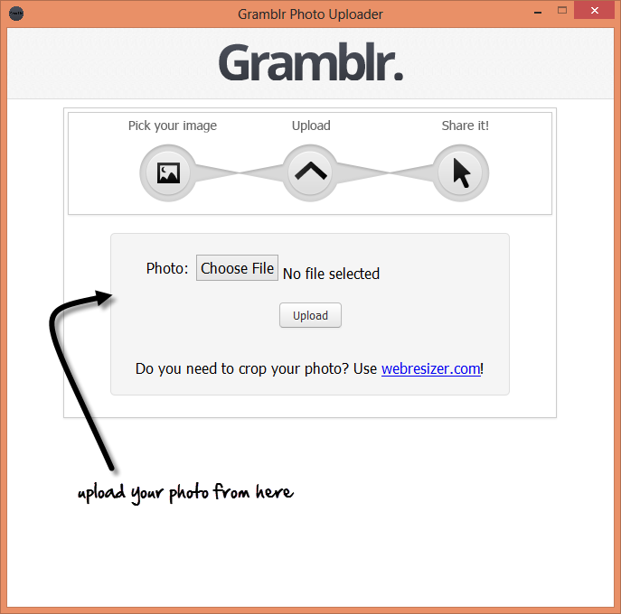 GramblrGrambler- a mode to use Instagram