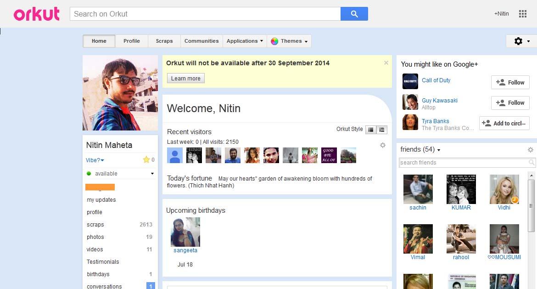 Google Will Shut Down Its Orkut Social Network In September