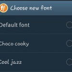 Change Font Style on Samsung Galaxy Grand Quattro