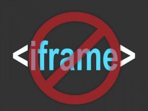 Prevent embedding website inside iframe