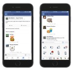 Facebook Now Lets You Put Stickers in Comments