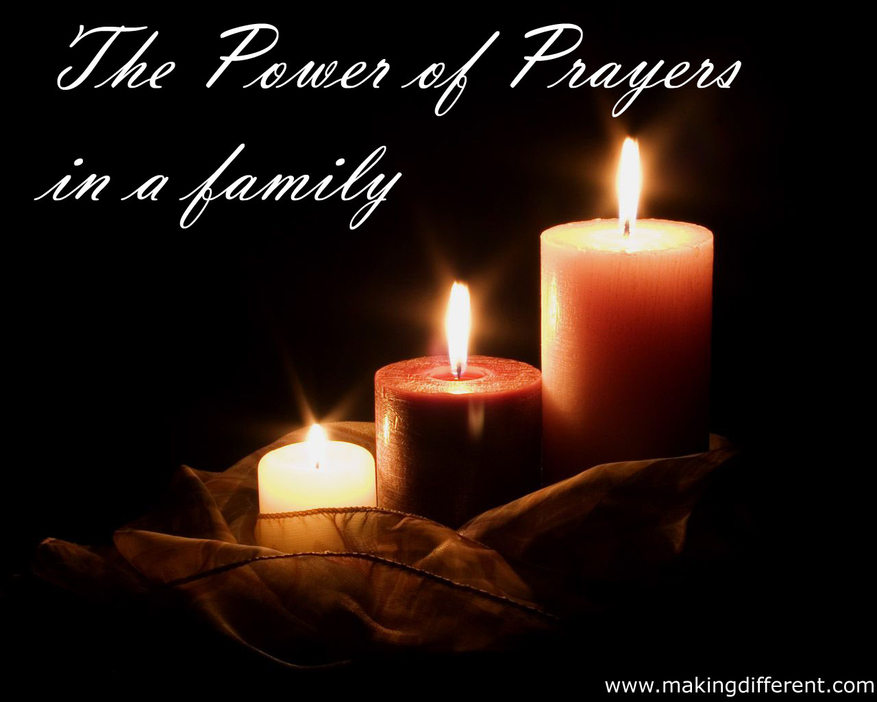 The Power of prayers in a family