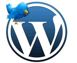 Flying Twitter Bird WordPress Plugin