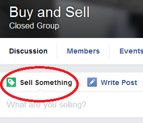 Facebook Rolls Out new Sell Feature for BuySell Groups