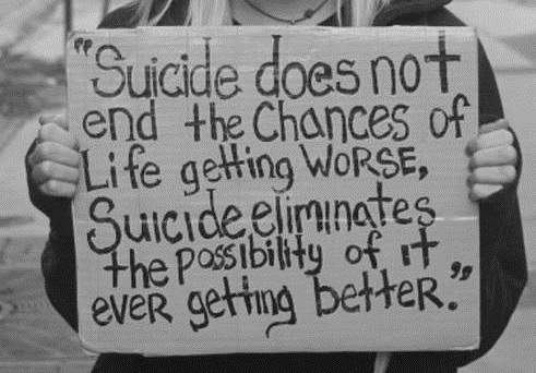 suicide is not the solution