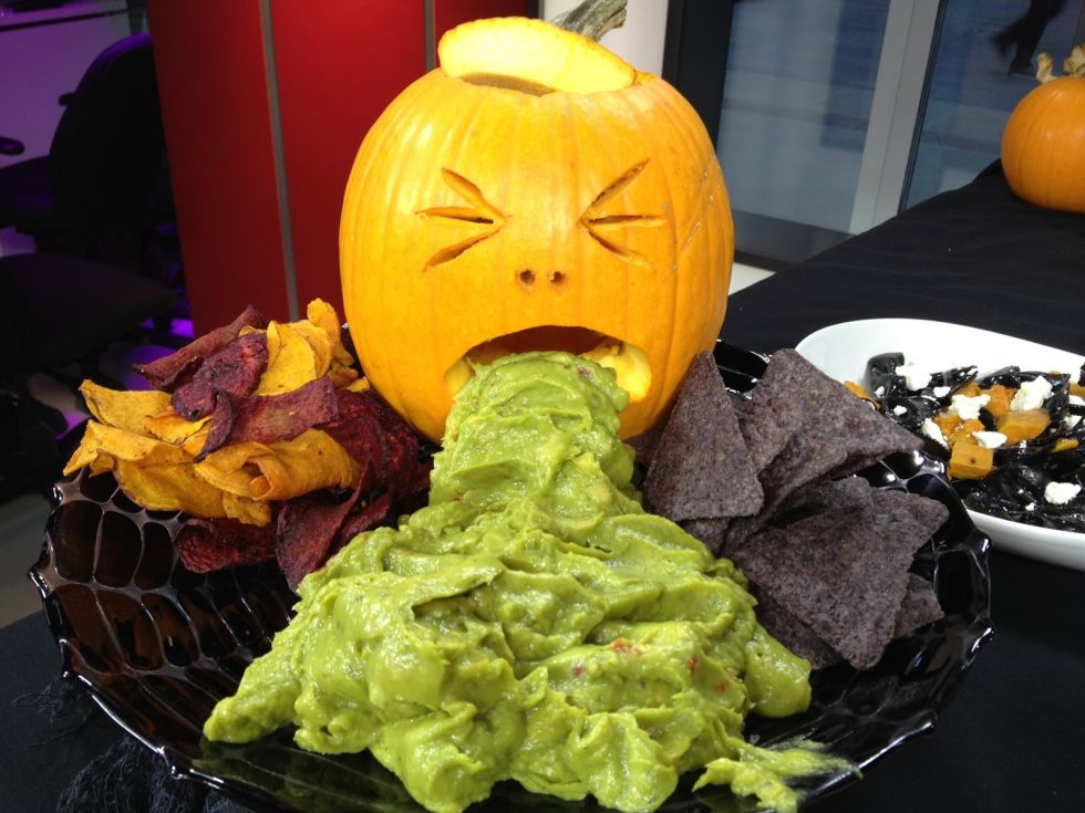 Puking-Pumpkin-Halloween-Food-Recipes