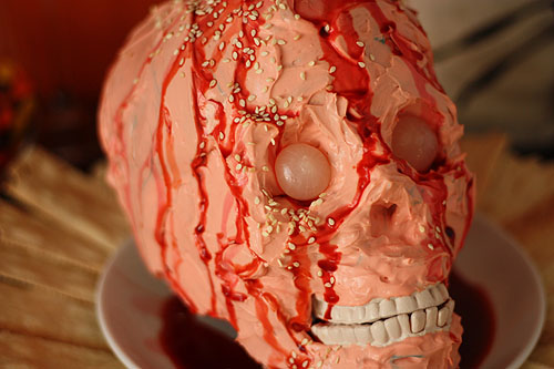 Zombie-Head-Cheeze-Halloween-Recipes