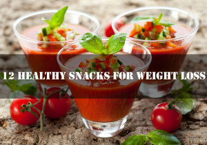 12 Healthy Snacks Proven To Help You Lose Weight Fast