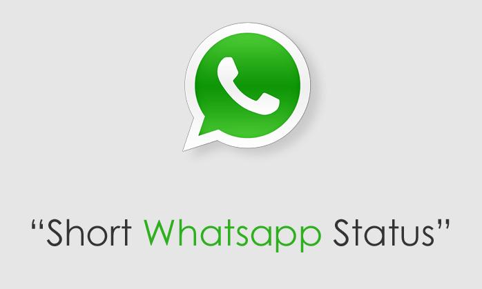 short whatsapp status