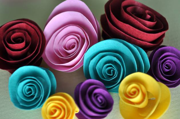 How to Make Different types of Flowers with Paper
