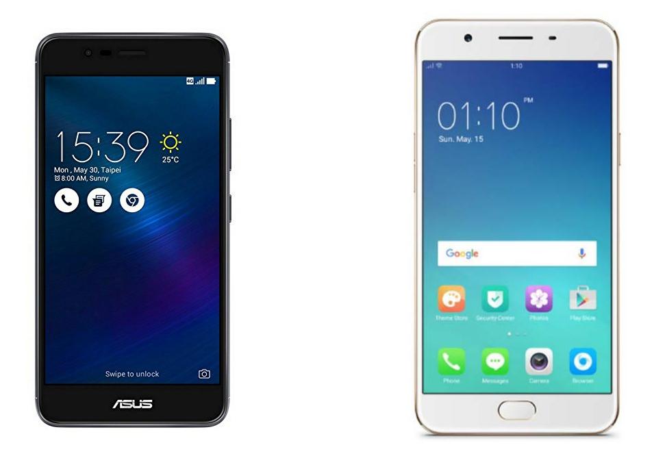 Specs Comparison: Asus Zenfone 3 Max 5.5″ vs. Oppo F1s