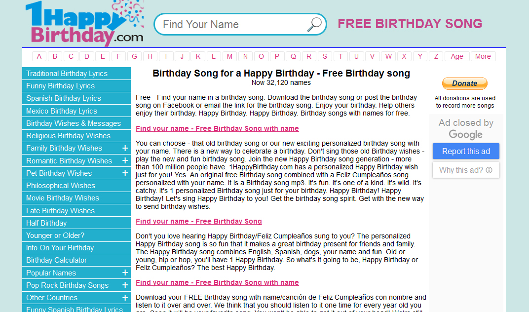 Free Download Personalized Happy Birthday Song in Your Friend's Name