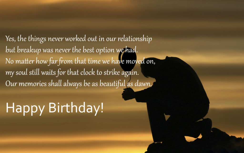 happy birthday letter to ex girlfriend how to say happy birthday to ex different 25787 | Happy Birthday Wishes Image for Ex Girlfriend 1024x642