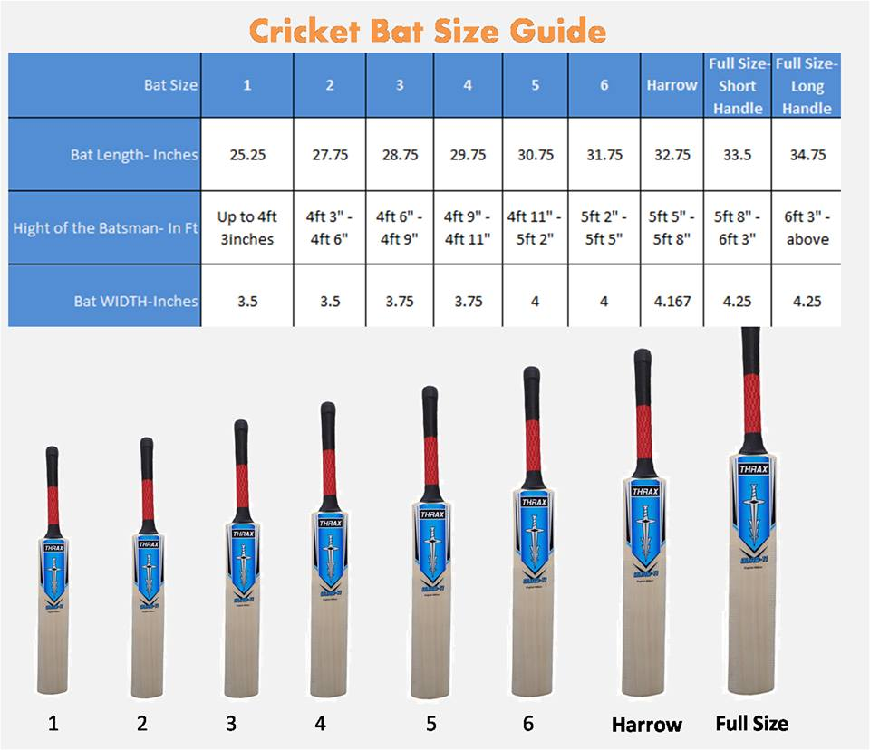 cricket-bat-size-chart