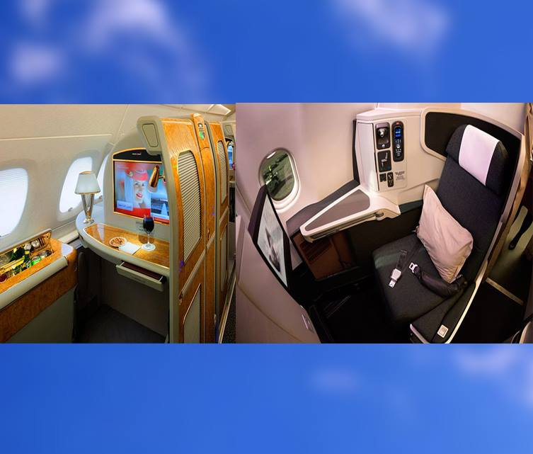 What's the Difference Between First Class and Business Class?