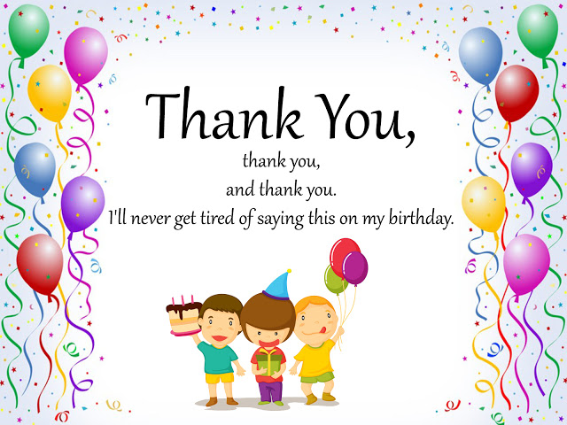 30 thank you notes for birthday wishes thank youg bookmarktalkfo Image collections