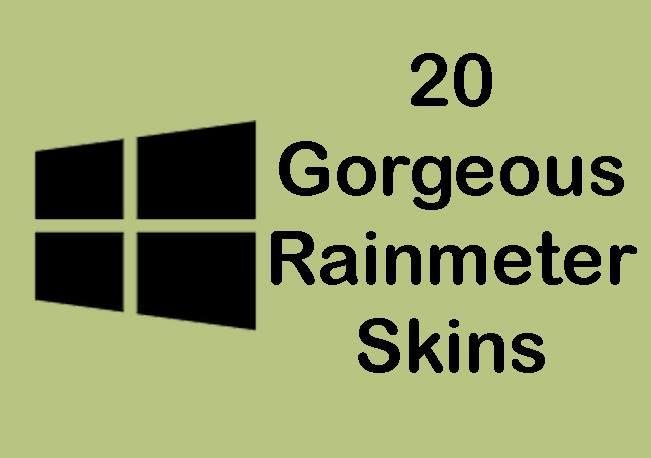 20 Amazing Rainmeter Skins