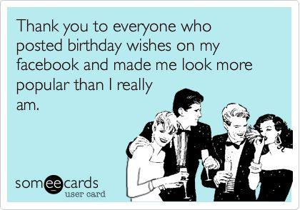 Thanks For Birthday Wishes Facebook