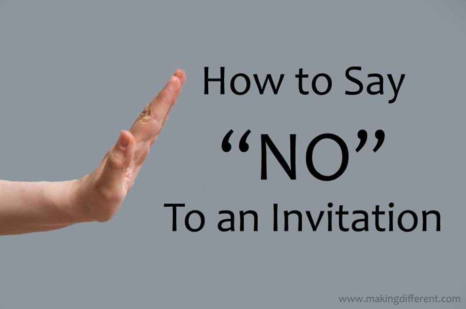How to Politely Say