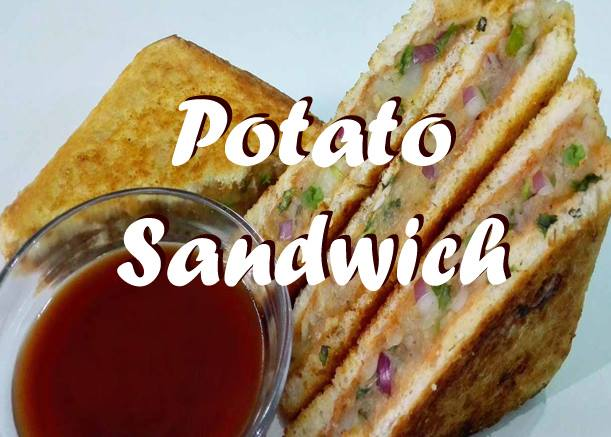How to Make Potato Sandwich At Home